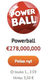 Powerball lotto on maailman suurin lottopeli