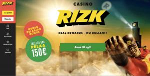 Rizk Casino Arvostelu ja Kokemuksia Screenshot