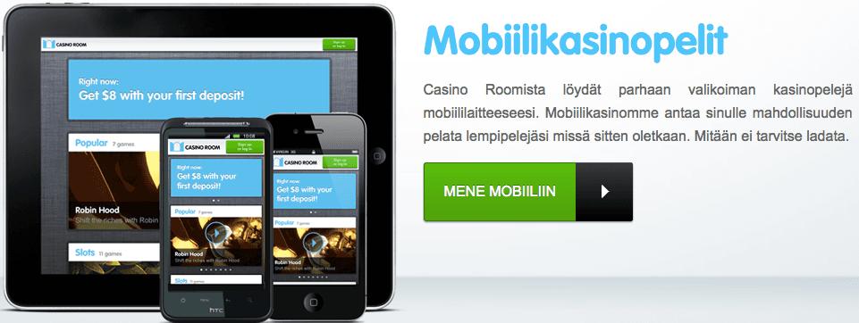 casinoroom mobiilikasino