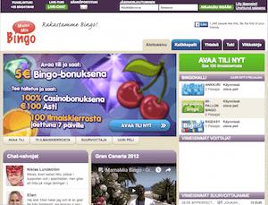 Mamamia Bingo Nettikasino Arvostelu ja Kokemuksia Screenshot