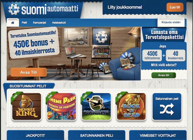 Suomiautomaatti Arvostelu ja Kokemuksia