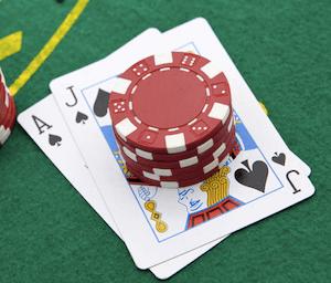Korttien laskeminen blackjackissa