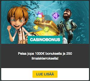 fastbet casinobonukset