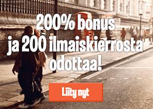 LeoVegas bonukset nettikasinolle