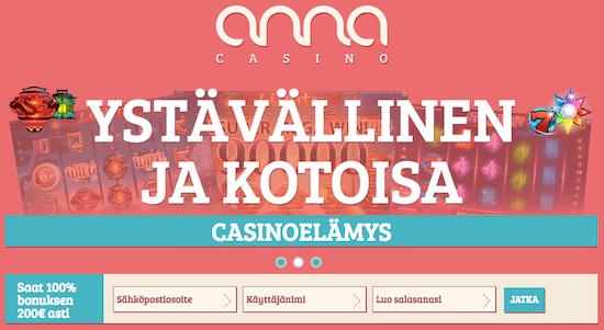 annacasino on suomalainen nettikasino