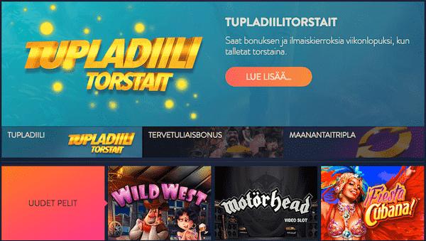 Betspin on raikas ja kiva suomalainen nettikasino