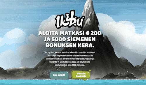 Ikibu Nettikasino Arvostelu ja Kokemuksia Screenshot