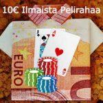 10e ilmaista pelirahaa ilman talletusta