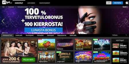 Hopa Nettikasino Arvostelu ja Kokemuksia Screenshot