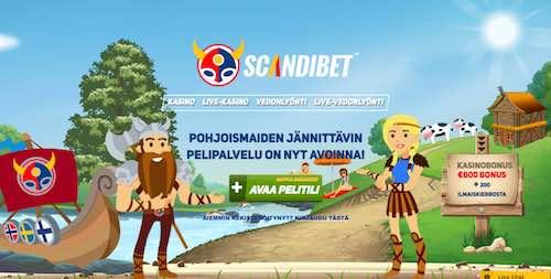 Scandibet Nettikasino Arvostelu ja Kokemuksia Screenshot