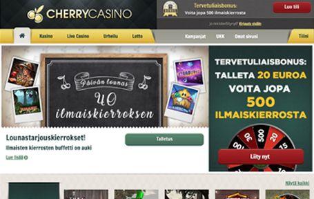 Cherry Casino Arvostelu ja Kokemuksia Screenshot