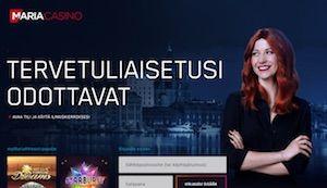 Liity Maria Casinon arvontaan