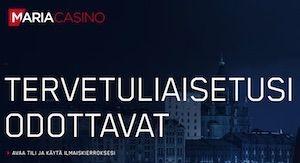 Maria Casino Arvostelu ja Kokemuksia Screenshot