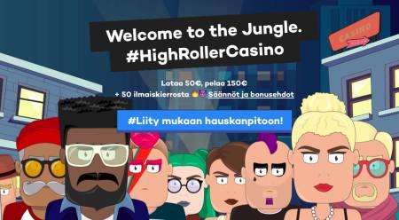 HighRoller Casino Arvostelu ja Kokemuksia Screenshot