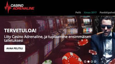 Casino Adrenaline Arvostelu ja Kokemuksia Screenshot