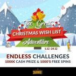 shadowbet casino joulukalenteri 2017