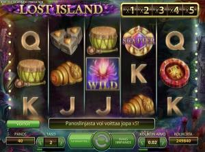 Lost Island NetEnt