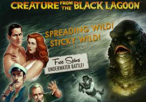 creature from the black lagoon peli netent