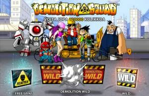 demolition squad peli netent