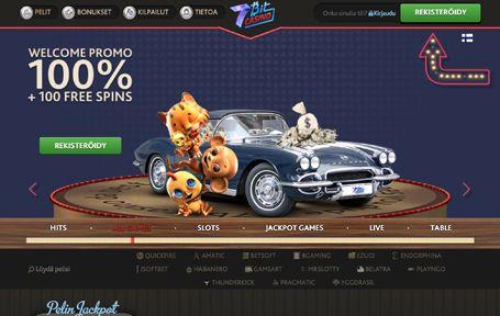 7Bit Casino Arvostelu ja Kokemuksia Screenshot