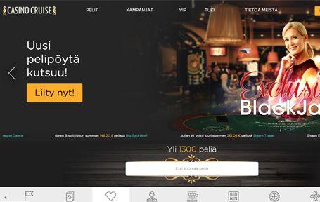 Casino Cruise Arvostelu ja Kokemuksia Screenshot