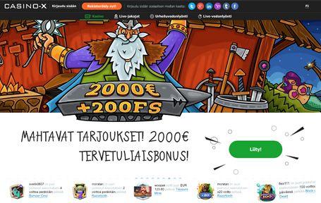 Casino-X Nettikasino Arvostelu ja Kokemuksia Screenshot