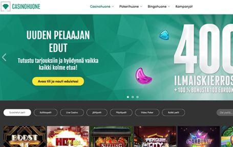 Casinohuone Arvostelu ja Kokemuksia Screenshot