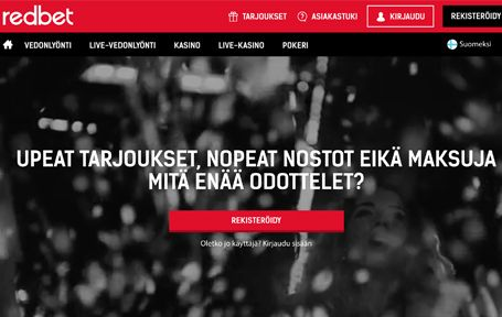 Redbet Nettikasino Arvostelu ja Kokemuksia Screenshot