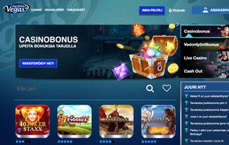 Suomivegas Casino Arvostelu ja Kokemuksia Screenshot