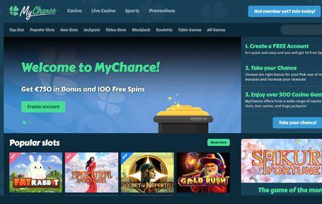 Mychance Casino Arvostelu ja Kokemuksia Screenshot
