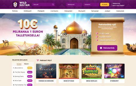 Wild Sultan Casino Arvostelu ja Kokemuksia Screenshot