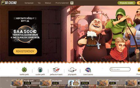 Bob Casino Arvostelu ja Kokemuksia Screenshot