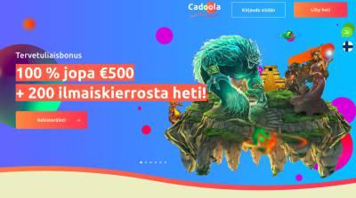 Cadoola Casino Arvostelu ja Kokemuksia Screenshot