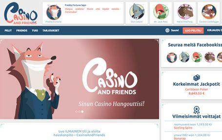 Casino and Friends Nettikasino Arvostelu ja Kokemuksia Screenshot