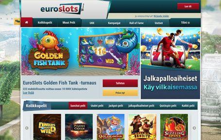 Euroslots Nettikasino Arvostelu ja Kokemuksia Screenshot
