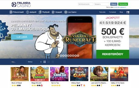 Finlandia Casino Arvostelu ja Kokemuksia Screenshot