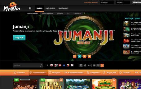 Mr Win Casino Arvostelu ja Kokemuksia Screenshot