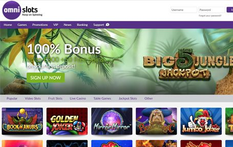 Omnislots Casino Arvostelu ja Kokemuksia Screenshot