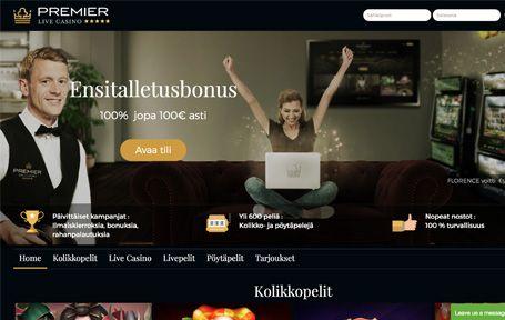 Premier Live Casino Arvostelu ja Kokemuksia Screenshot