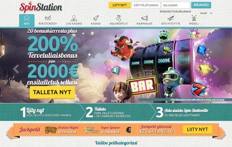 Spinstation Casino Arvostelu ja Kokemuksia Screenshot