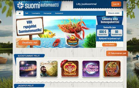 Suomiautomaatti Kasino Arvostelu ja Kokemuksia Screenshot