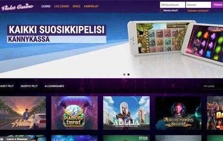 Violet Casino Arvostelu ja Kokemuksia Screenshot