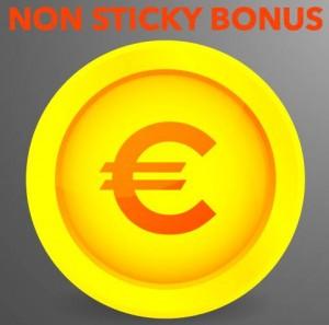 non sticky bonus