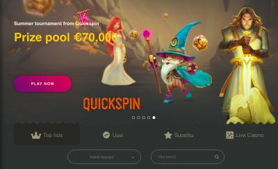 Buran Casino Arvostelu ja Kokemuksia Screenshot