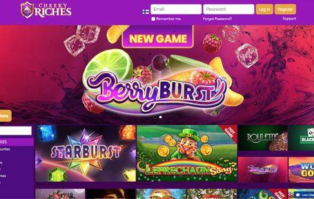 Cheeky Riches Casino Arvostelu jaKokemuksia Screenshot