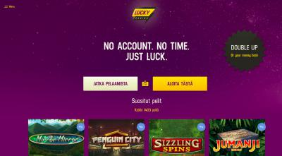 Lucky casino kokemuksia ja arvostelu Screenshot