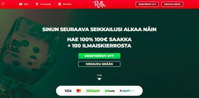 Rolla Casino Arvostelu ja Kokemuksia Screenshot