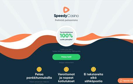 Speedy casino kokemuksia ja arvostelu