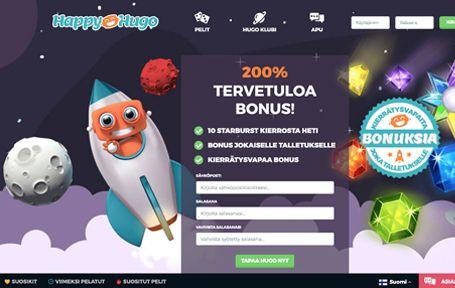 Happy Hugo Casino Arvostelu ja Kokemuksia Screenshot