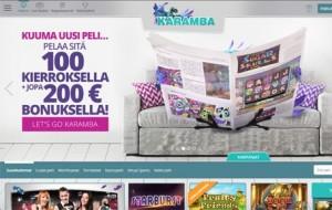 Karamba Casino Kokemuksia ja Arvostelu Screenshot